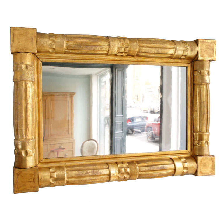 American empire over mantle mirror for sale at 1stdibs for Mantel mirrors