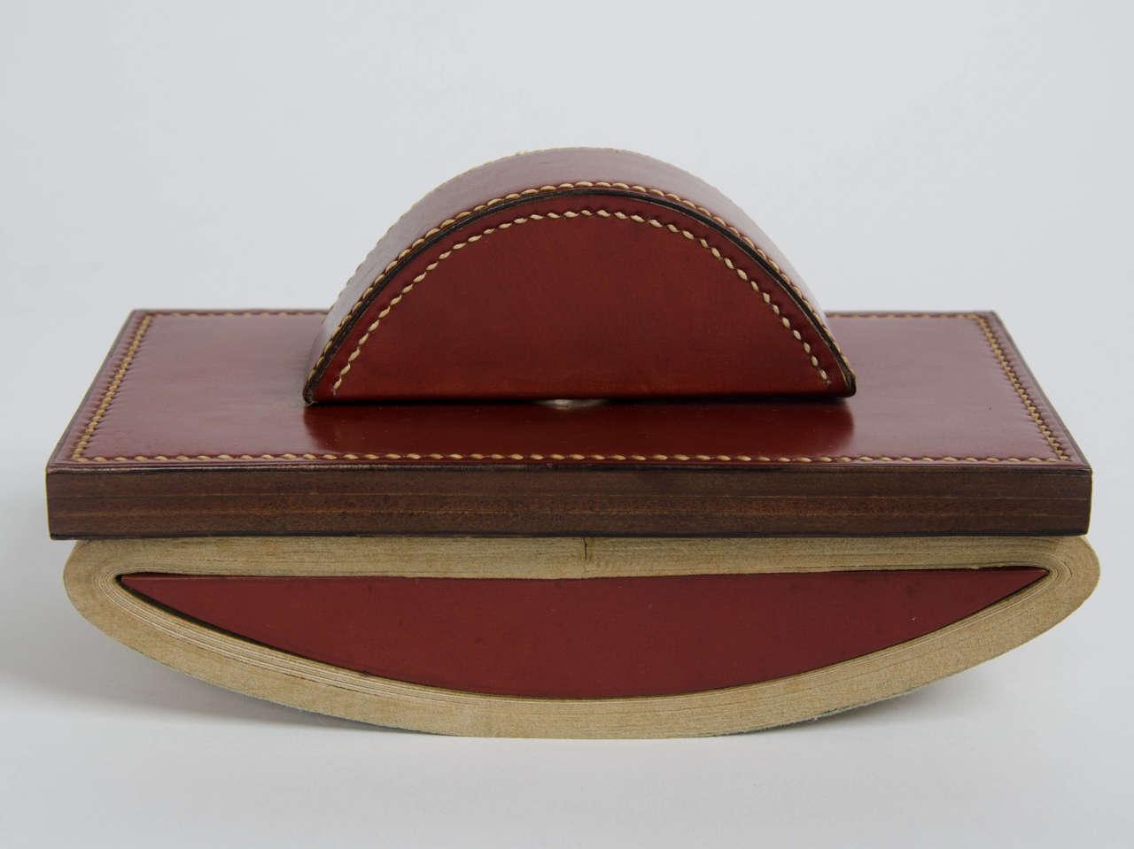n cessaire de bureau by paul dupr lafon for herm s at 1stdibs. Black Bedroom Furniture Sets. Home Design Ideas