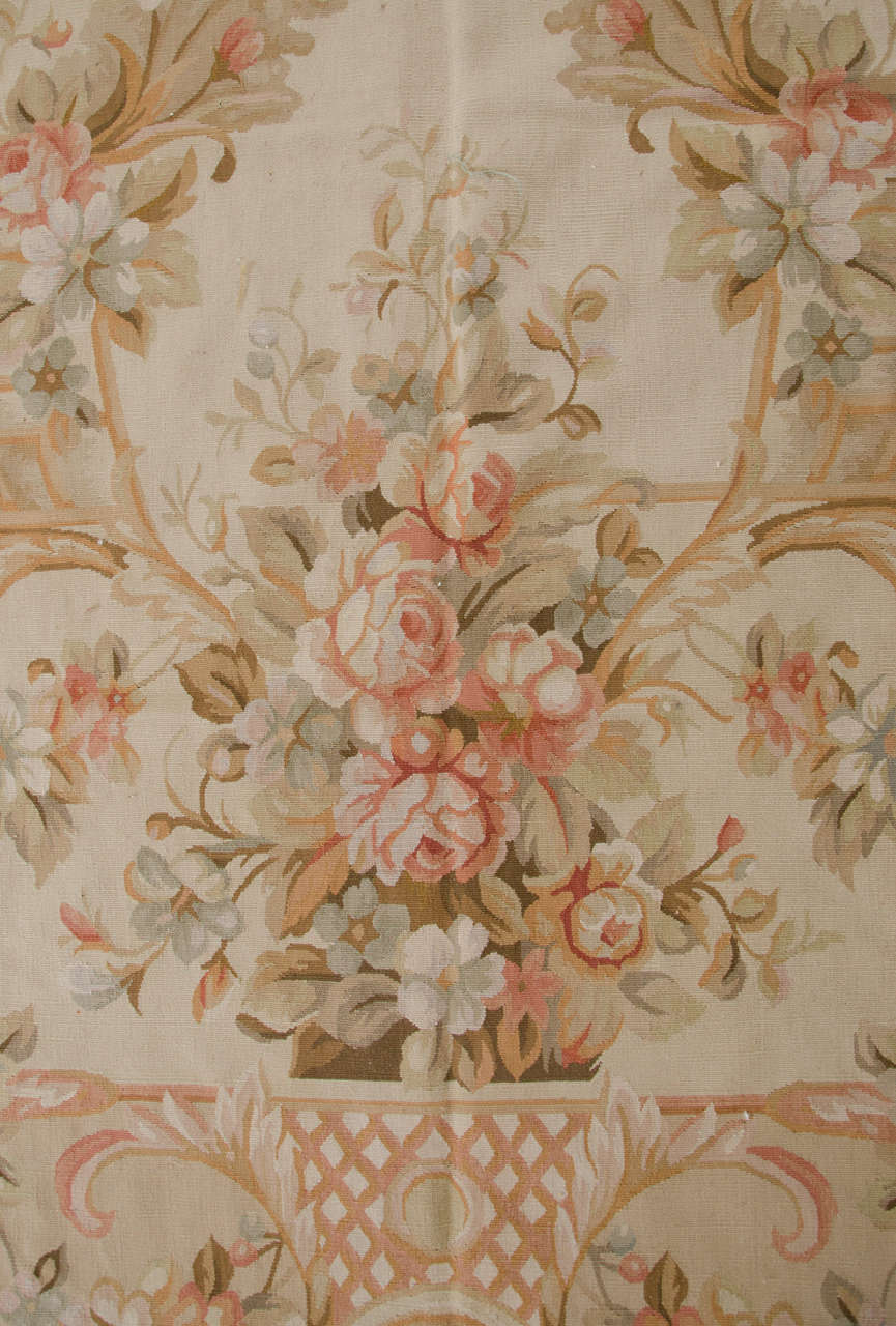 Modern Chinese Aubusson Rug At 1stdibs