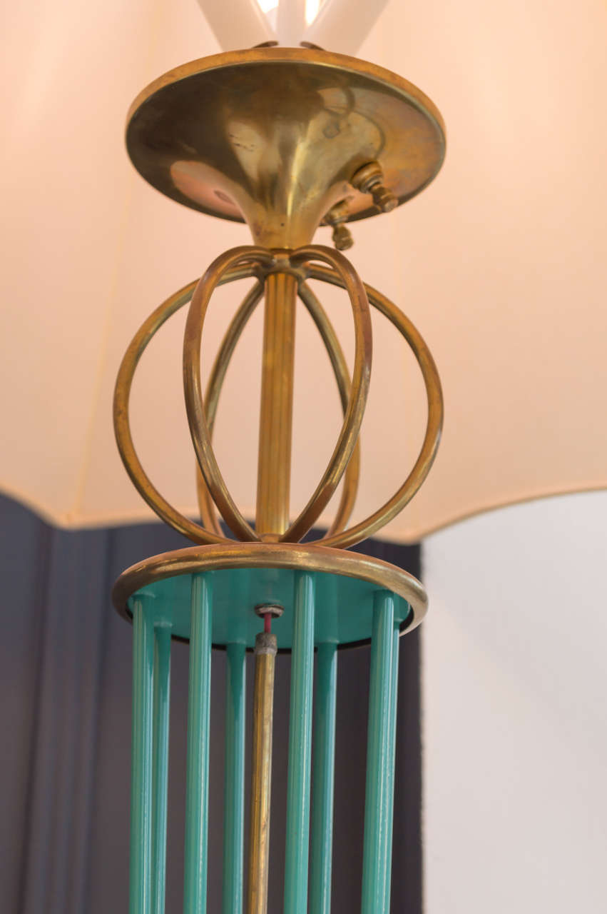 Mid-20th Century Maison Arlus Floor Lamps For Sale