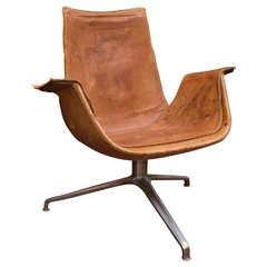"Preben Fabricus and Jorgen Kastholm ""Bird"" Lounge Chair"