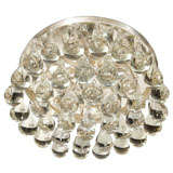 Hollywood Circular Flush Mount Ceiling Fixture