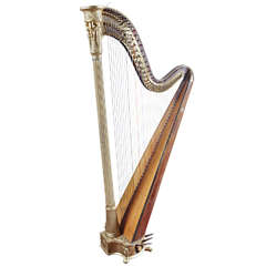 Early 19th Century French Sebastien Erard Concert Harp, 1811
