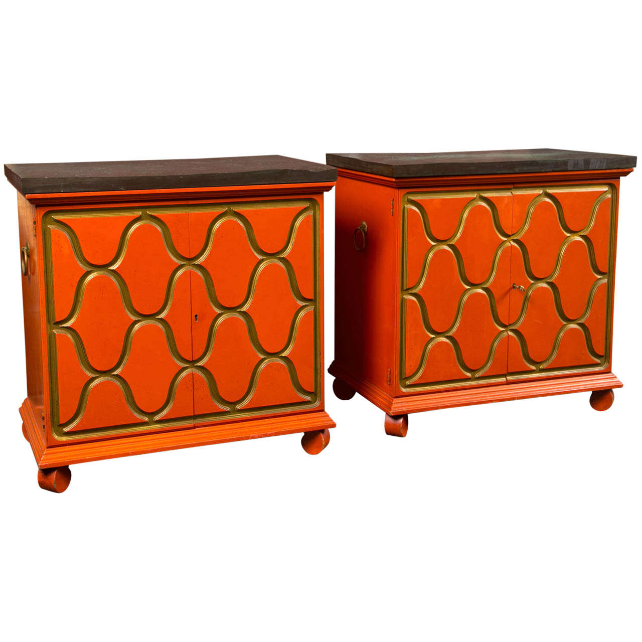 Pair of Dorothy Draper Henredon Chests For Sale