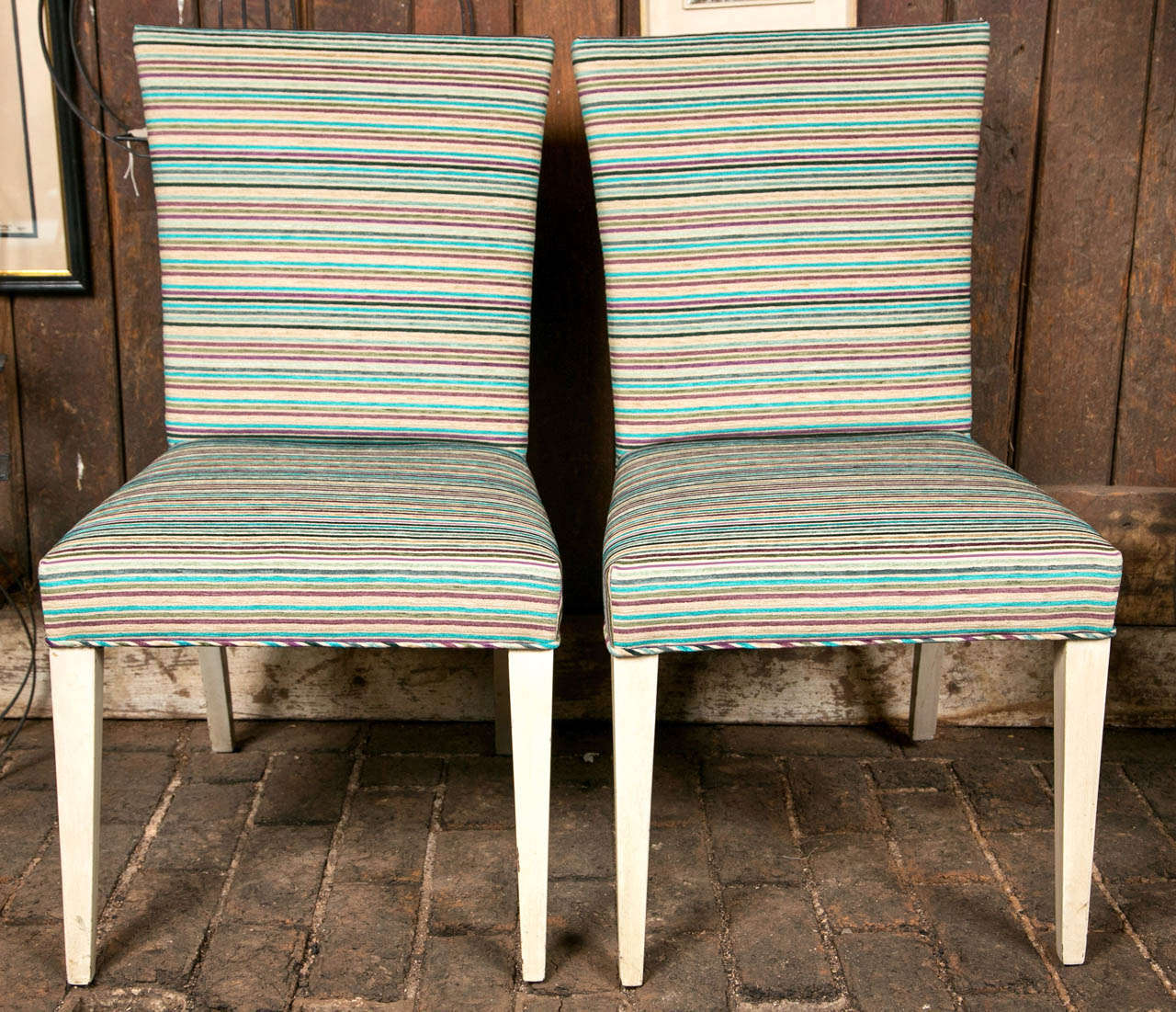 Pair of Mid-Century Modern Side Chairs 2