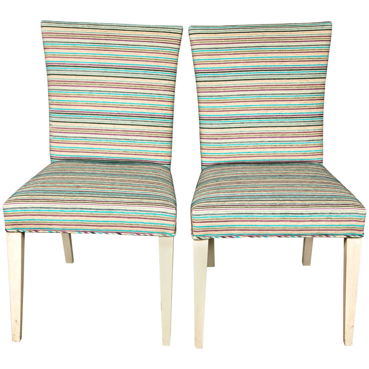 Pair of Mid-Century Modern Side Chairs 1