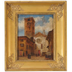 Italian Grand Tour Painting, c. 1820