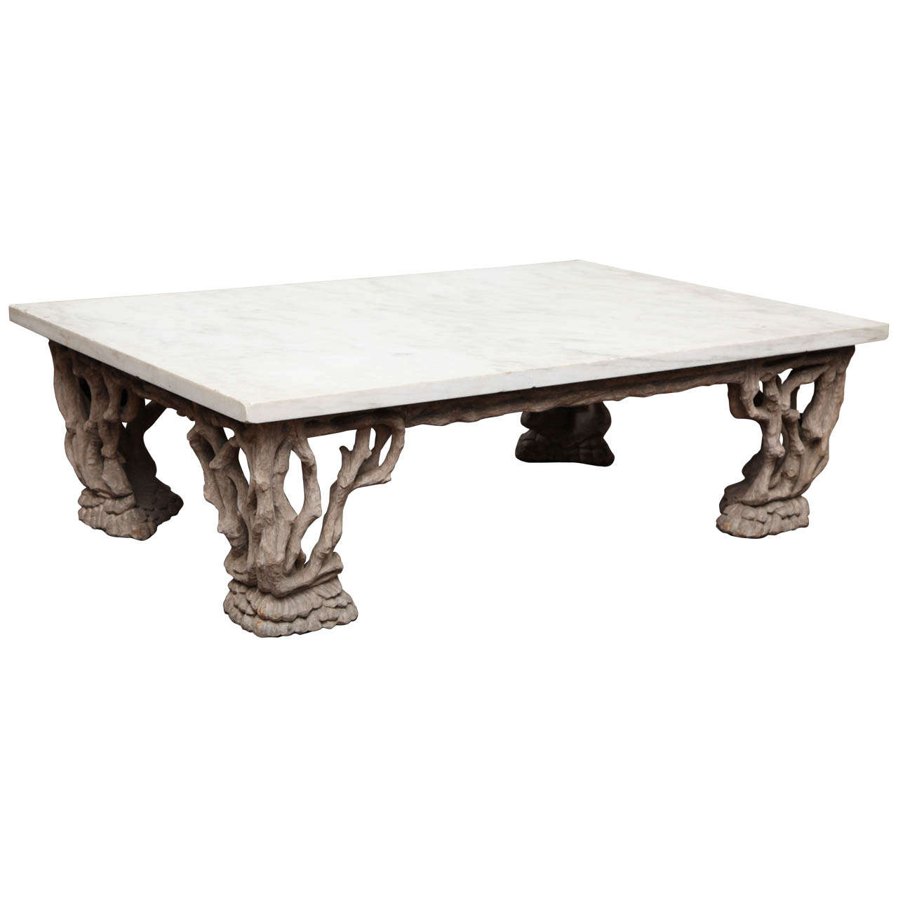 Handmade Marble Coffee Table At 1stdibs