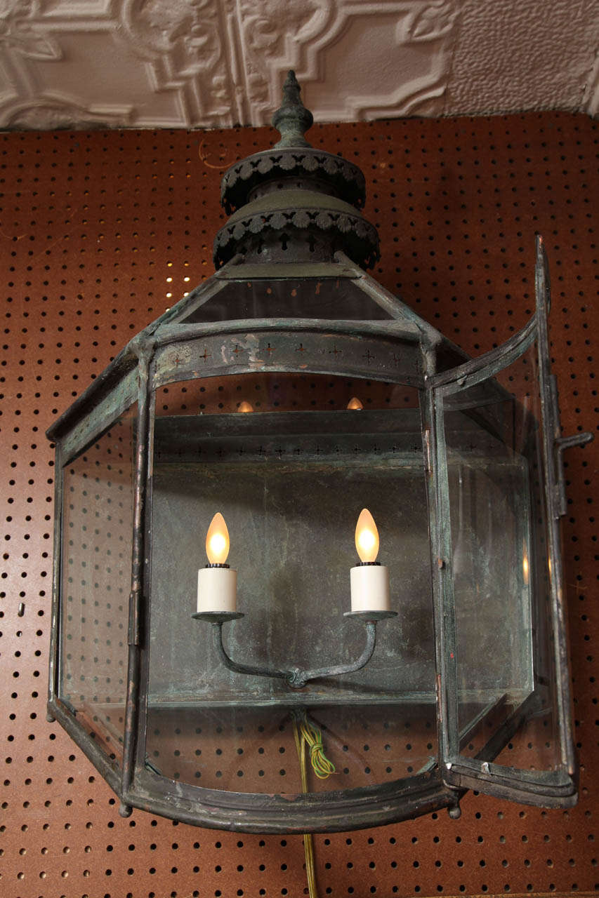 19th Century Copper Lanterns For Sale 5