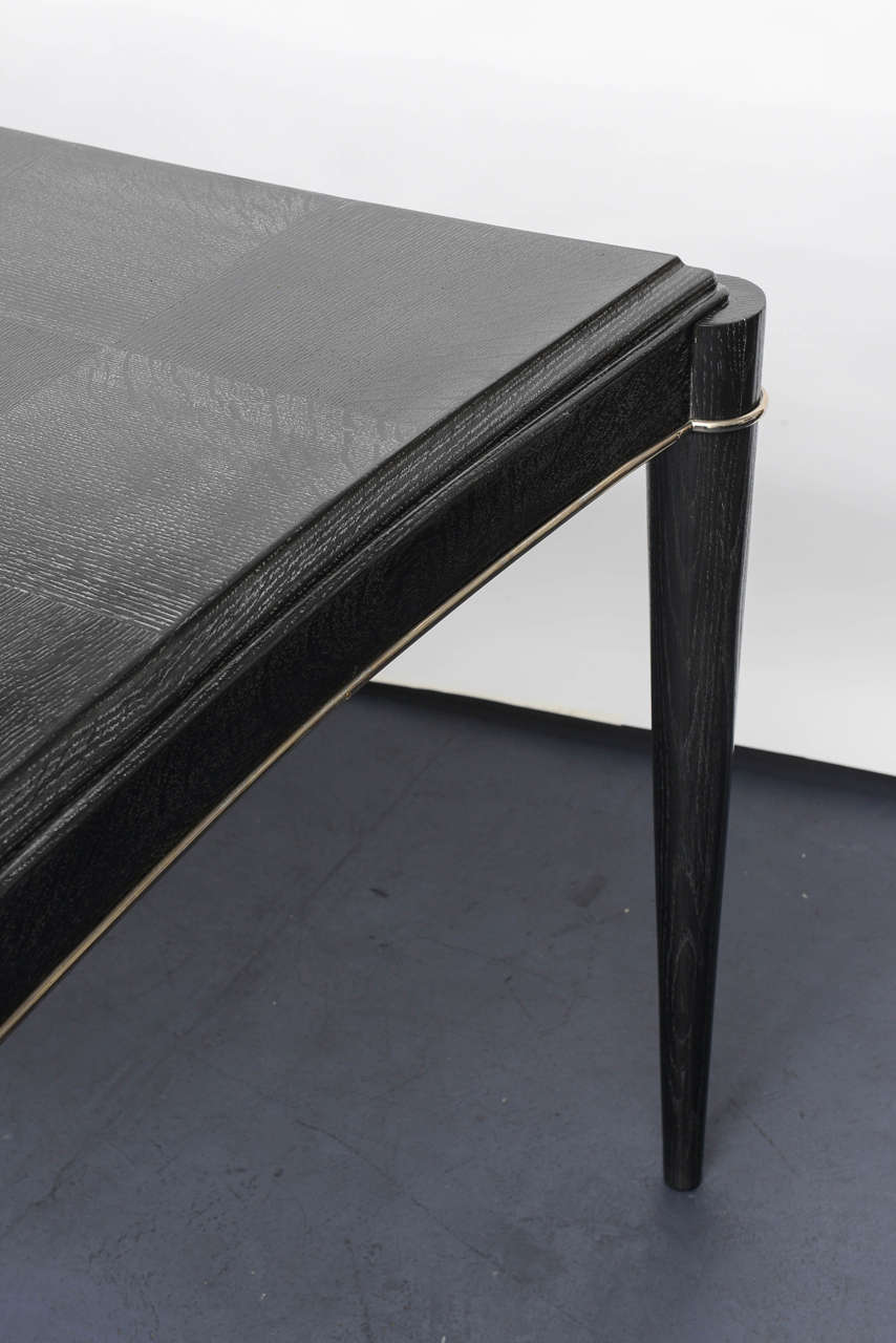 Mid-20th Century French Art Deco Desk Table For Sale