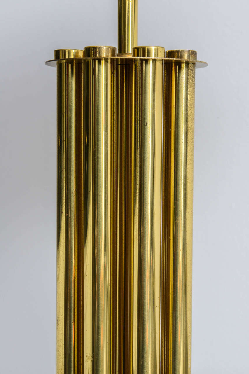Italian Mid-Century Barovier & Toso Glass and Bronze Table Lamp For Sale 4