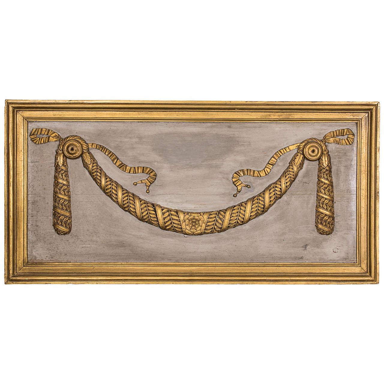 Italian, 18th Century Decorative Panel