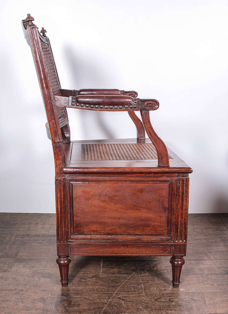 louis xvi chaise perc e at 1stdibs