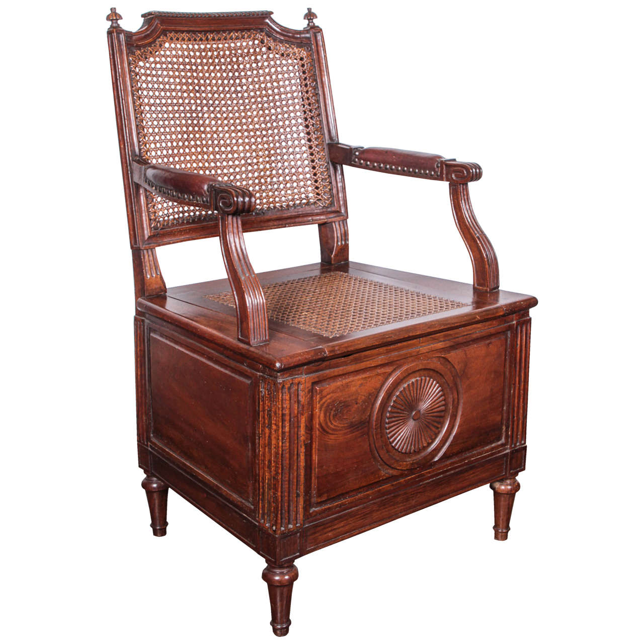 louis xvi chaise perc e for sale at 1stdibs. Black Bedroom Furniture Sets. Home Design Ideas