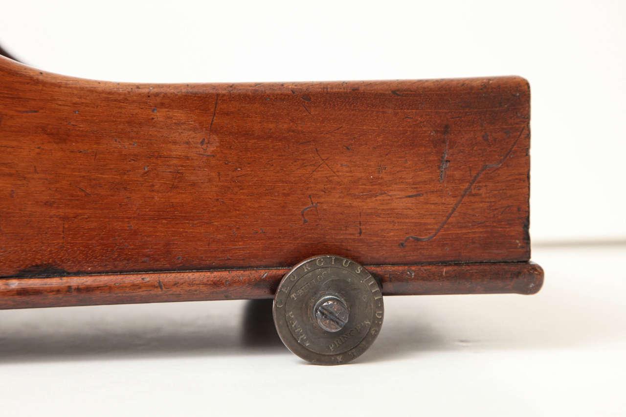 George III Mahogany Table Coaster, circa 1800 3