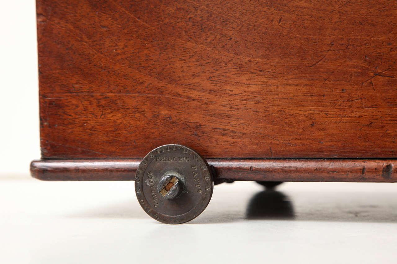 George III Mahogany Table Coaster, circa 1800 5