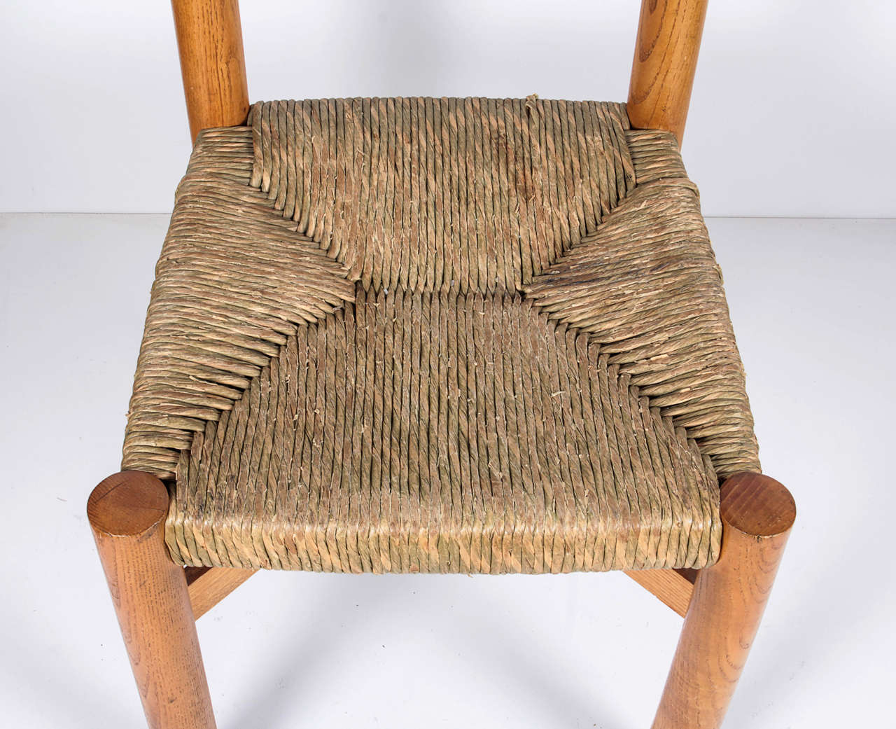 French Charlotte Perriand Chair, circa 1967 For Sale