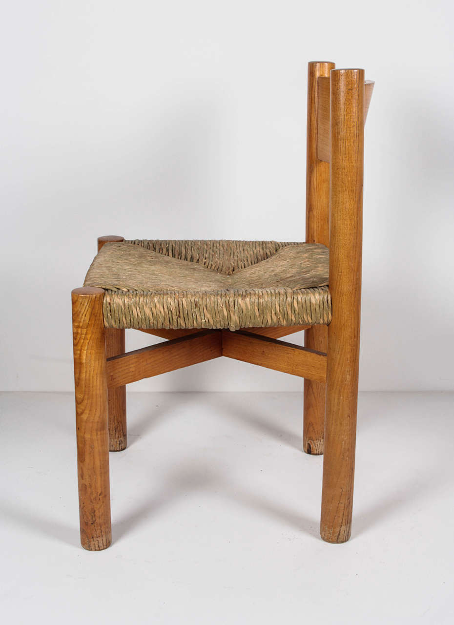 Charlotte Perriand Chair, circa 1967 In Good Condition For Sale In New York, NY