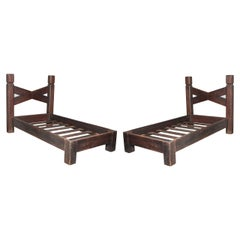 Pair of 20th Century of Single Beds