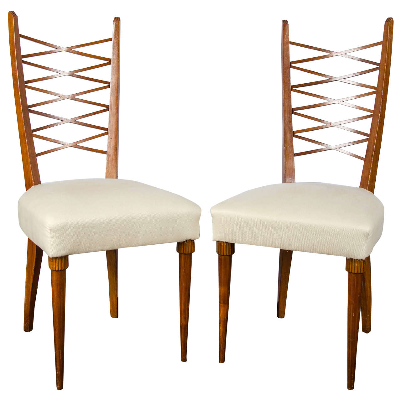 Set of six dining chairs by pier luigi colli for sale at for Pier 1 dining room sets