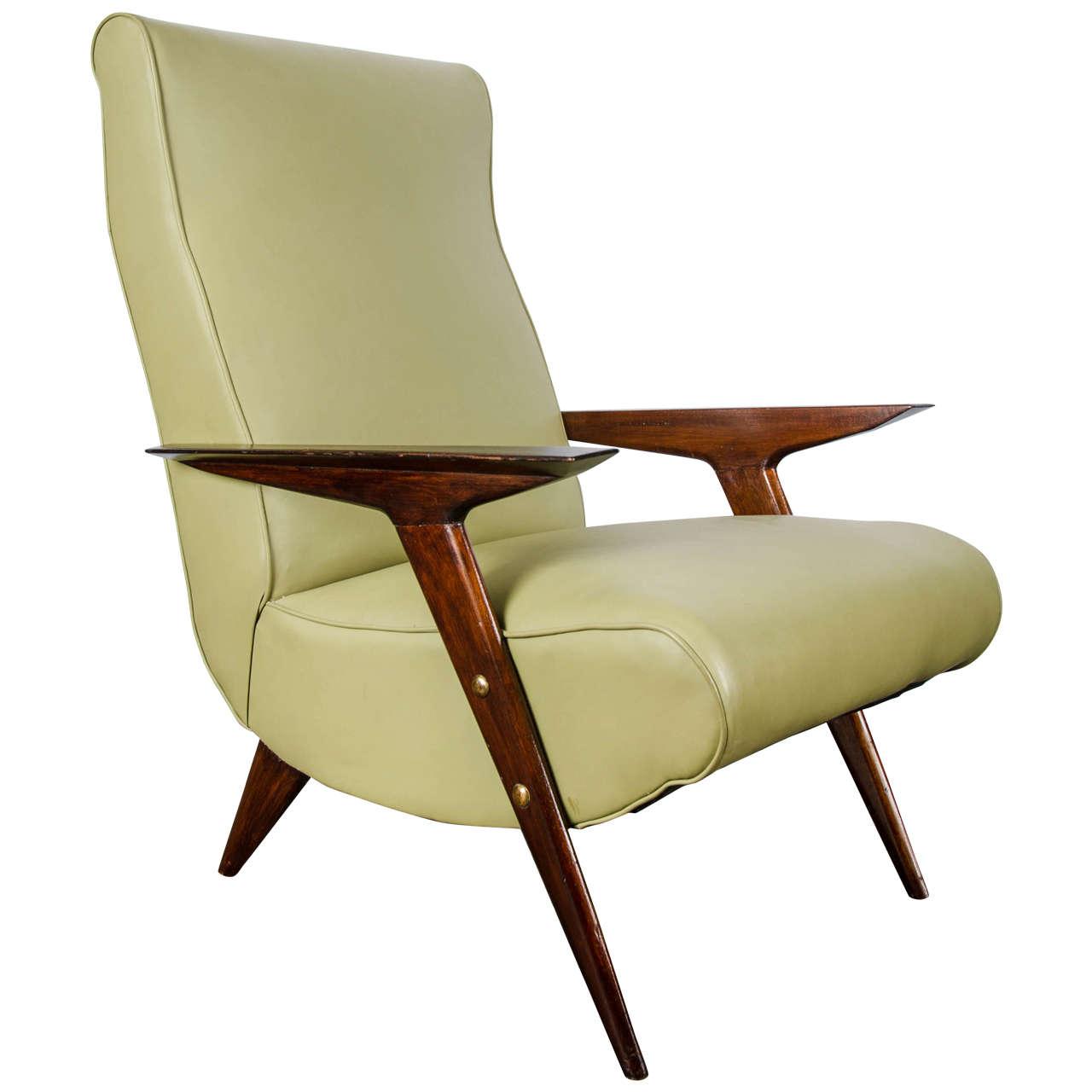 50 39 s italian single armchair at 1stdibs for Single armchairs