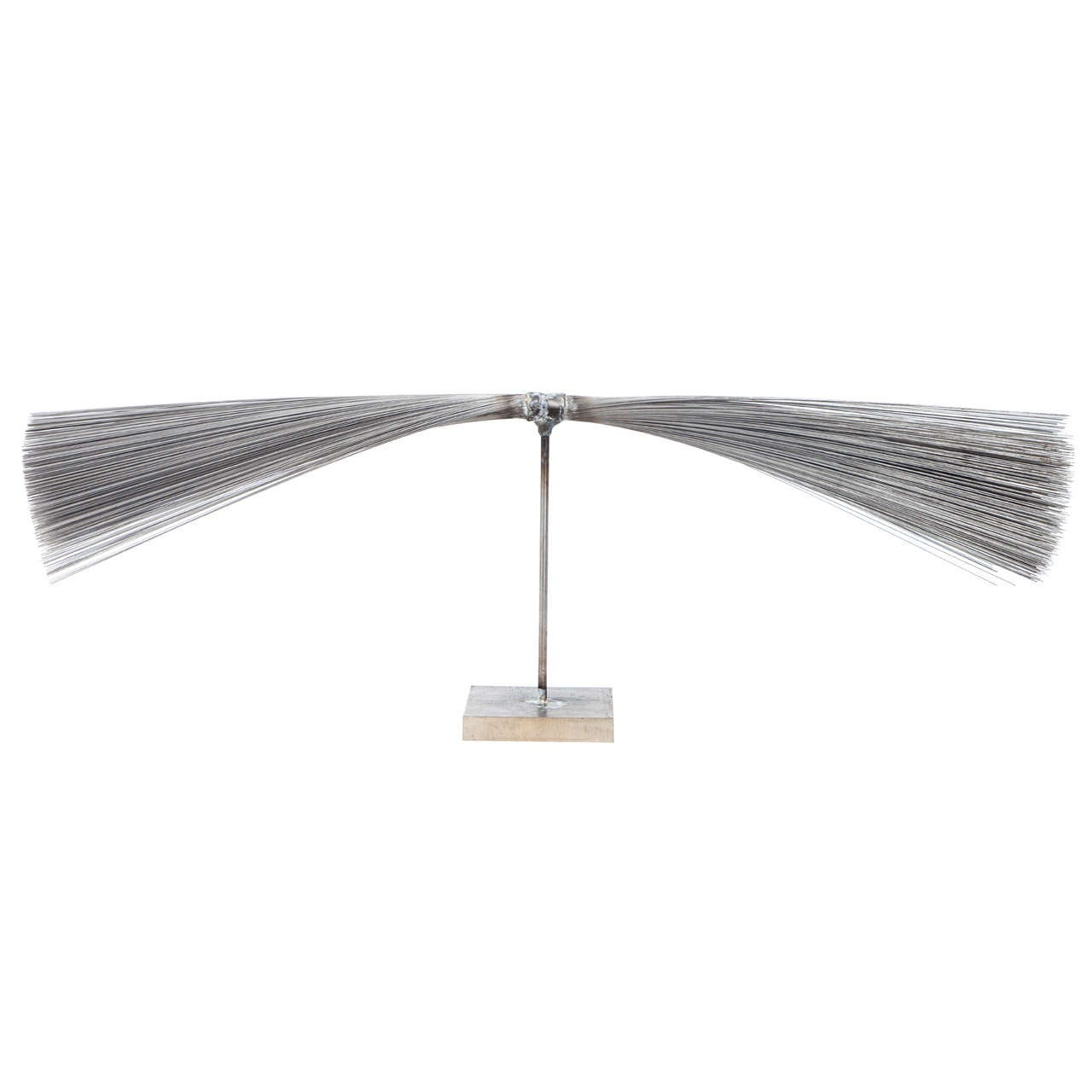 Val Bertoia Relaxing Spray Sculpture, 2014