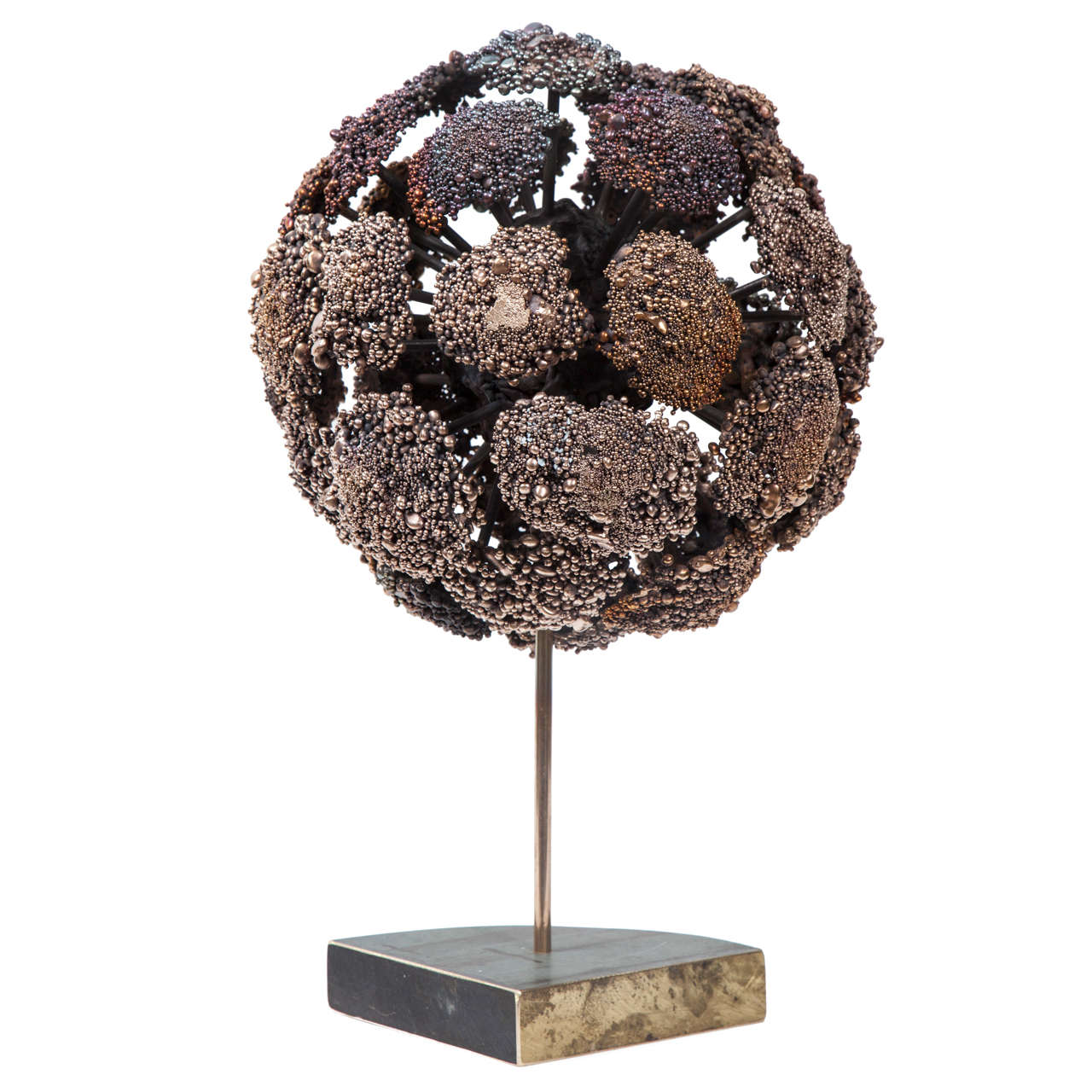 Val Bertoia Bronze Hydrangea Sculpture, 2015 For Sale