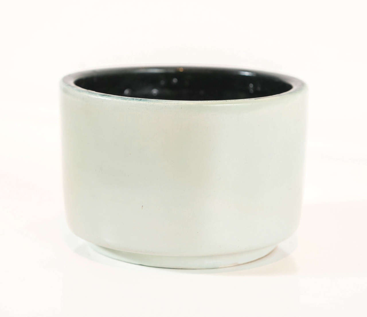French Georges JOUVE Glazed Ceramic Pot For Sale