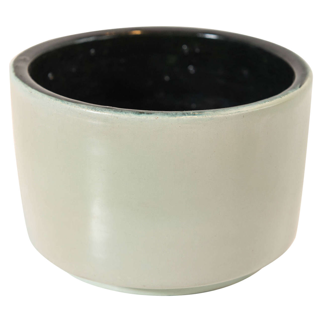 Georges JOUVE Glazed Ceramic Pot For Sale