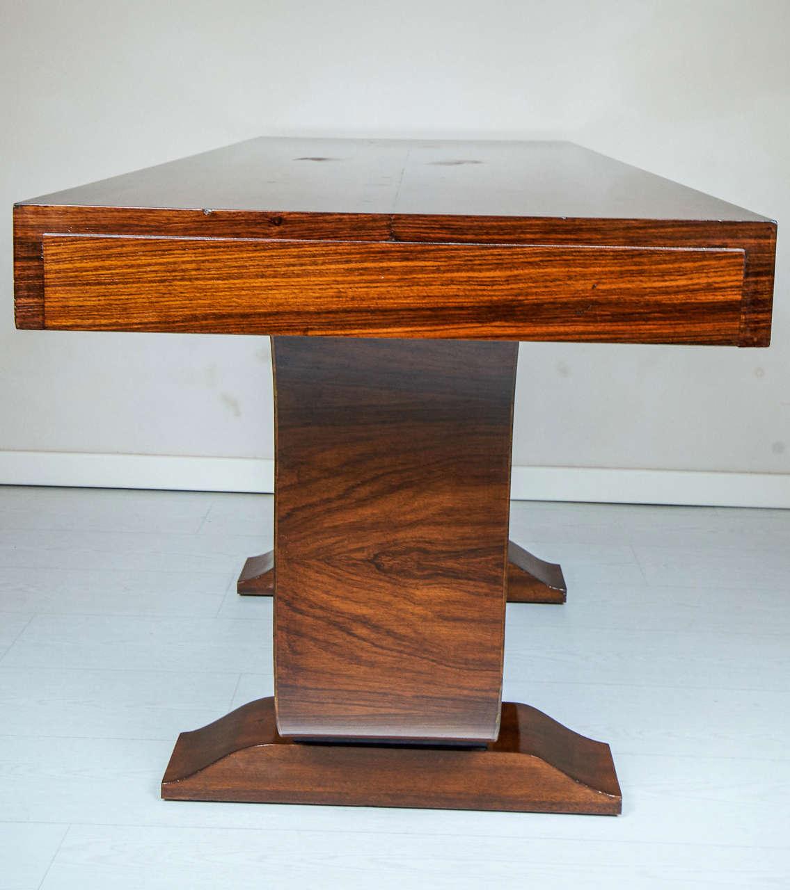 elegant art deco console table 1930 at 1stdibs. Black Bedroom Furniture Sets. Home Design Ideas