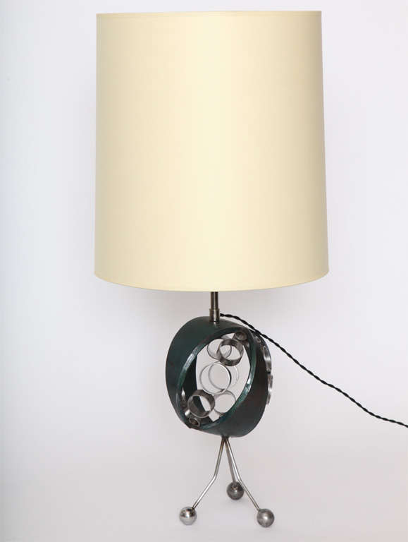 Luxury Unusual Futuristic Italian Table Lamp For Sale At 1stdibs