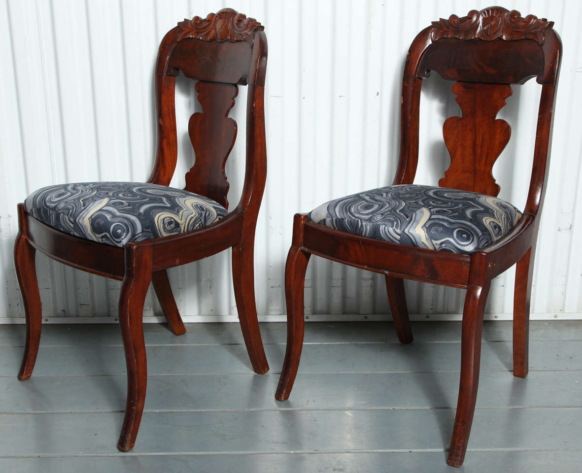 19th Century Victorian Hall Chairs 2