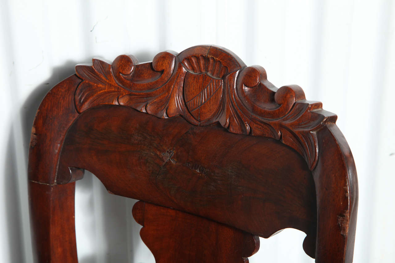 19th Century Victorian Hall Chairs 3