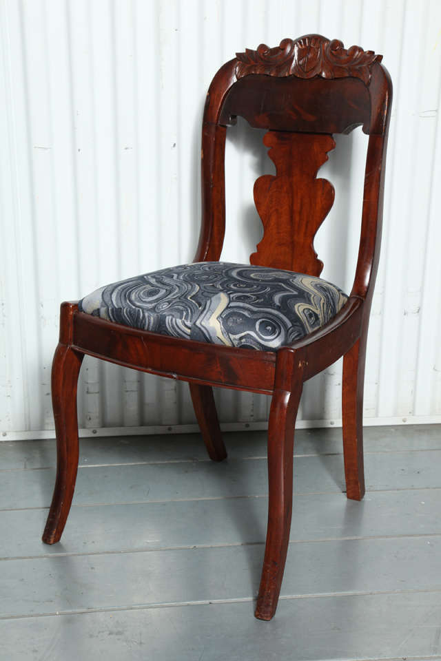 19th Century Victorian Hall Chairs 4