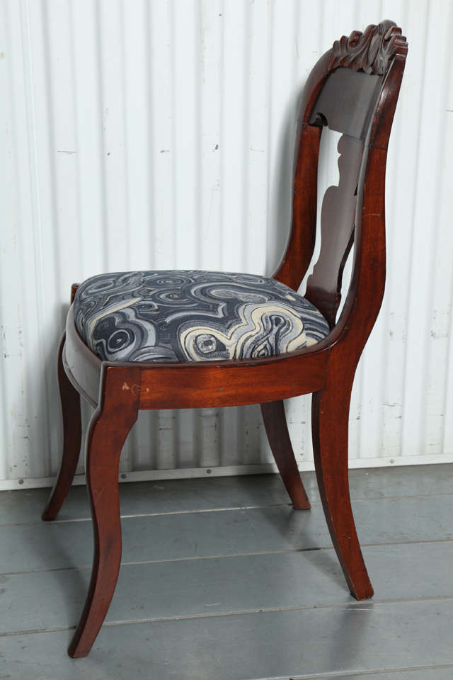 19th Century Victorian Hall Chairs 6