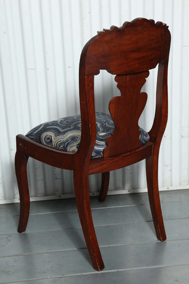 19th Century Victorian Hall Chairs 7