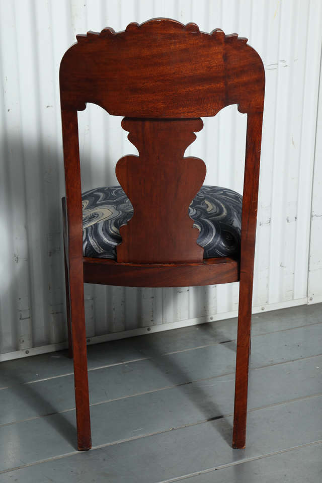 19th Century Victorian Hall Chairs 8
