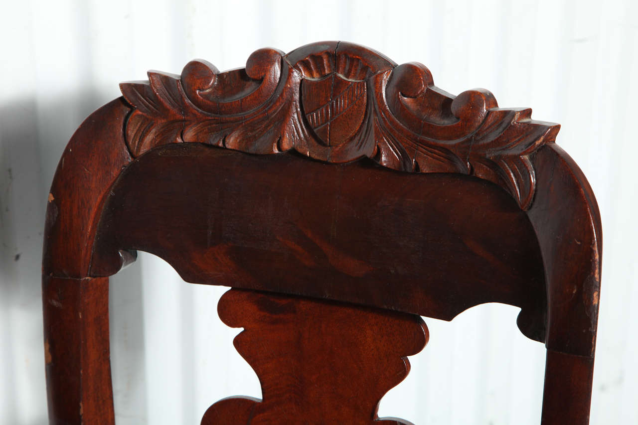 19th Century Victorian Hall Chairs 9