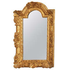 Louis XIV Gilt Wood Mirror