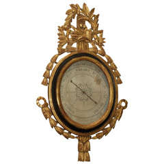 18th C Louis XVI Barometer