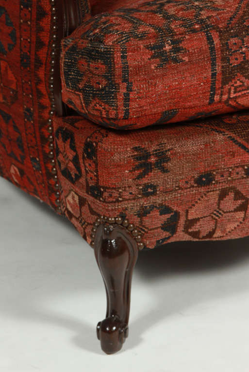 Antique French Clubchair 3