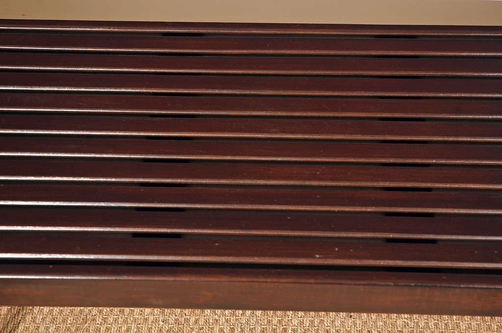 Nelson Slat Bench In Excellent Condition In Santa Monica, CA