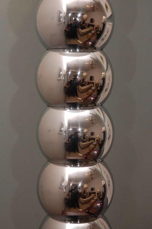 Mercury Glass Floor Lamp At 1stdibs