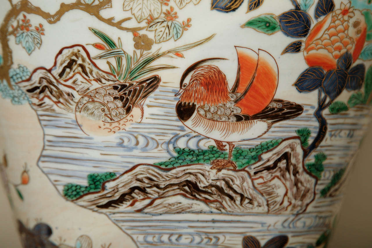 18th Century and Earlier  Early 18th Century Japanese Imari Vase For Sale