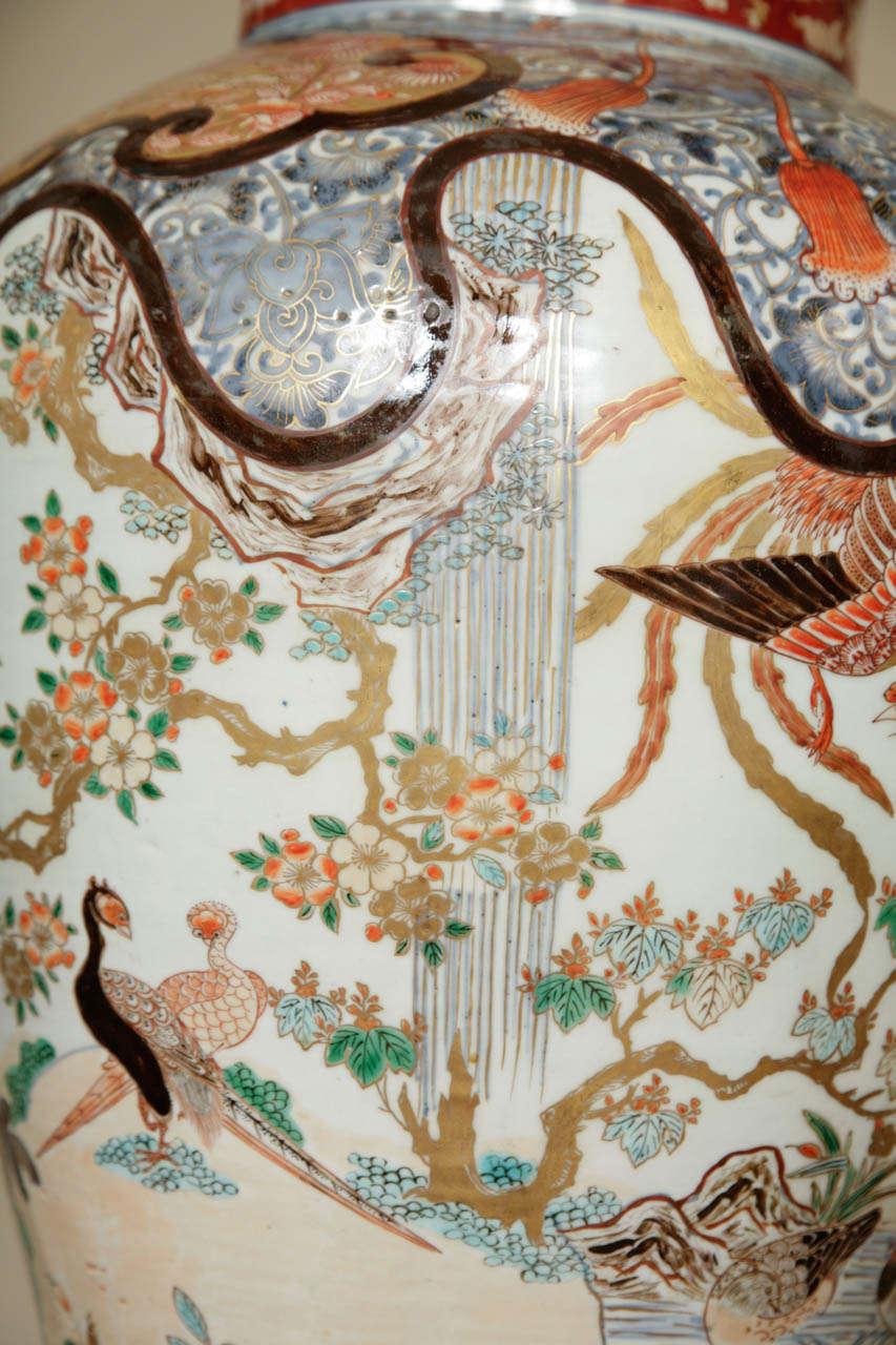Early 18th Century Japanese Imari Vase For Sale 1