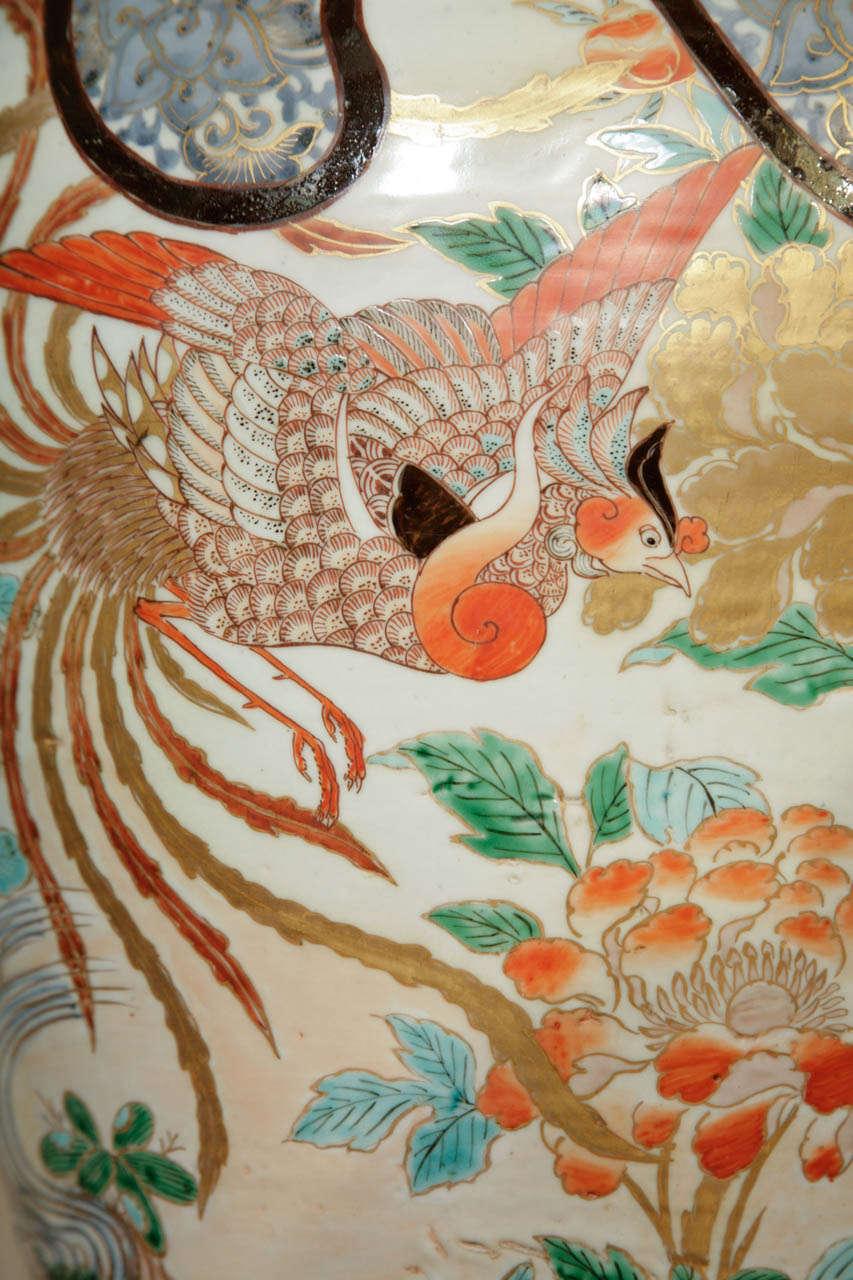 Early 18th Century Japanese Imari Vase For Sale 4