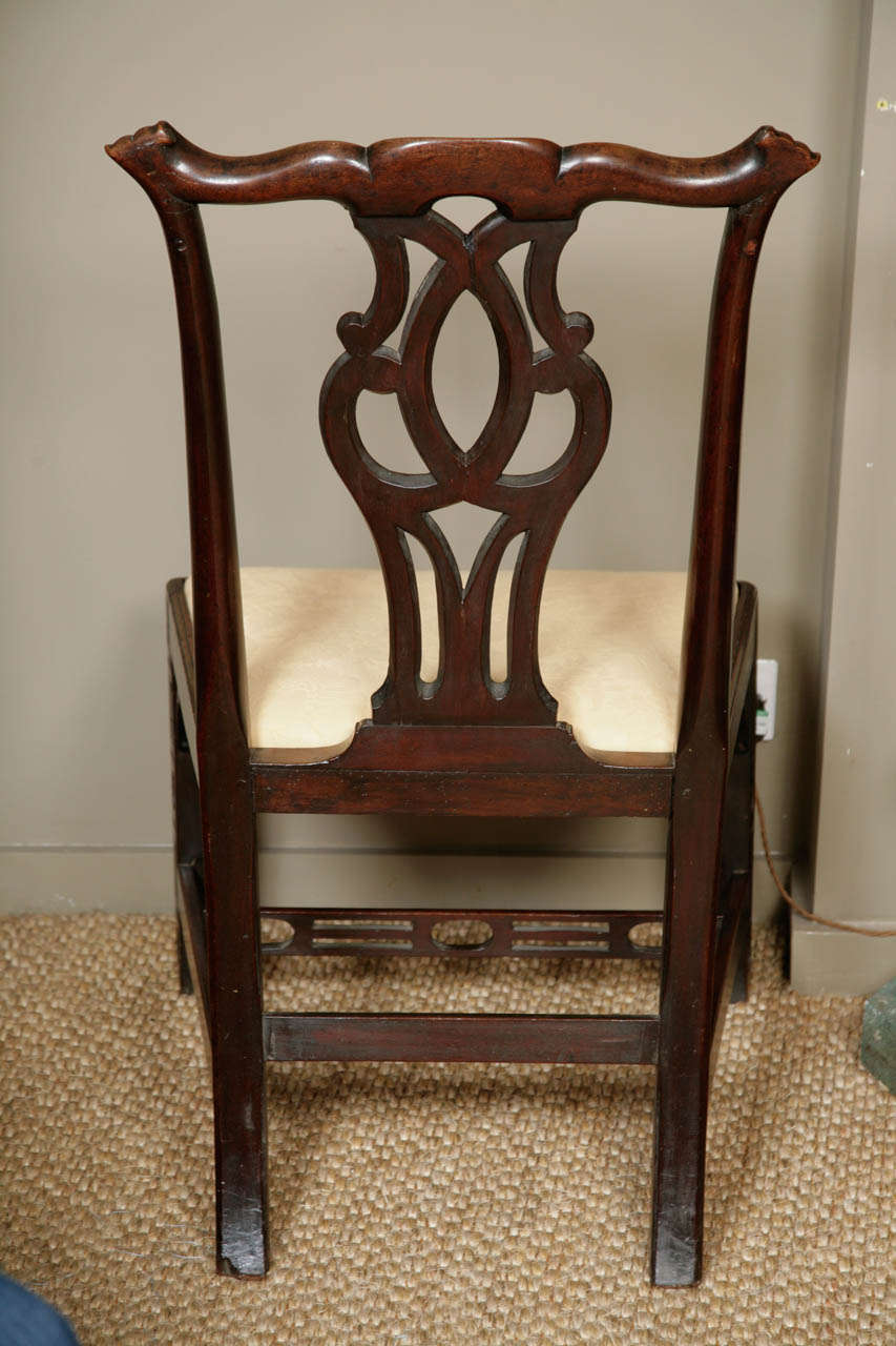 Chinoiserie Chippendale Chair Chinoiserie Fretwork Chair