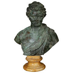 Late 18th Century to Early 19th Century Grand Tour Bronze of Faun