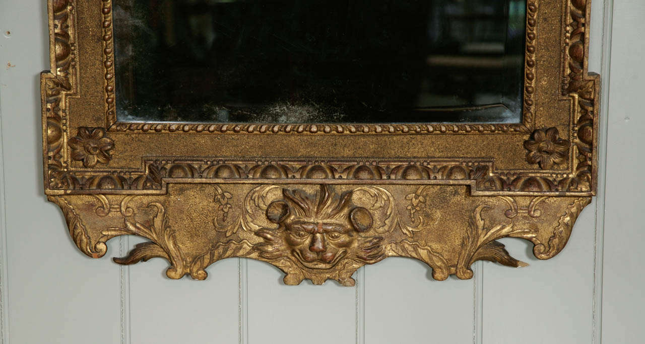 18th Century and Earlier A George II Giltwood Pier Mirror For Sale