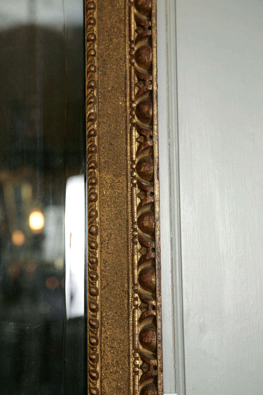 A George II Giltwood Pier Mirror In Excellent Condition For Sale In London, GB